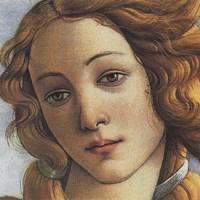Birth of Venus (detail) Fine Art Print