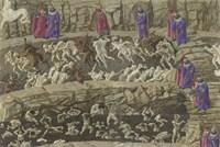Illustration to the Divine Comedy Fine Art Print