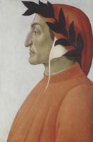 Portrait of Dante Alighieri Fine Art Print