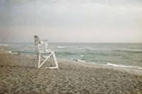 Lifeguard Chair at Dawn Fine Art Print