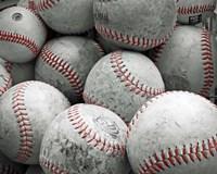 Vintage Baseballs Fine Art Print