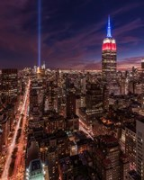 9-11 New York Fine Art Print
