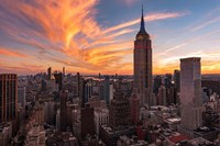 9-11 New York Sunset 2 Fine Art Print