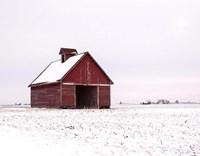 Central Illinois Barn Fine Art Print