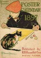 R.H. Russell & Son Calendar, 1897 Fine Art Print