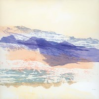 Abstract Mountain Fine Art Print