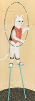 Cat on Stilts Fine Art Print