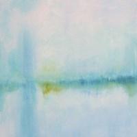 Misted Shores Fine Art Print