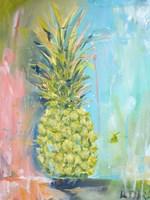 Chartreuse Pineapple Fine Art Print