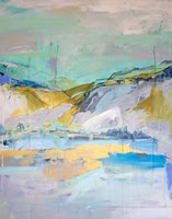Sun Lake Fine Art Print