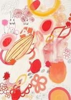 Funnie Bunnies Go To Space Fine Art Print