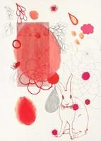 Funny Bunny Makes An Appearance Fine Art Print