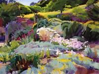 Hillside Garden Fine Art Print