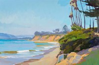Morning Light, Butterfly Beach Fine Art Print