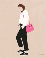 Hot Pink Handbag Fine Art Print