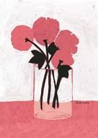 Poppy Vase Fine Art Print