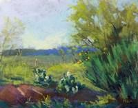 Above San Angelo Fine Art Print