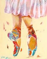 Ballet Slippers Fine Art Print