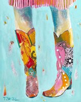 Cowgirl Boots Fine Art Print