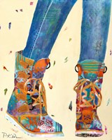 Hiking Boots Fine Art Print