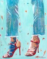 Red Heels Fine Art Print