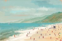 Santa Monica Beach Fine Art Print