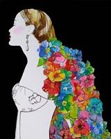 Flower Hair Fine Art Print