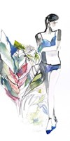 Lingerie Lady Fine Art Print