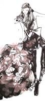 Peony Dress Fine Art Print