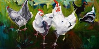 What the Cluck Fine Art Print
