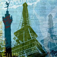 Paris (French Blue) Fine Art Print