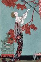 Fashion Illustration, 1914 Fine Art Print