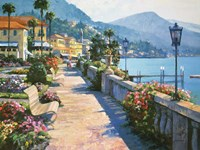 Bellagio Promenade Fine Art Print