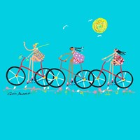 Tour de Girls Fine Art Print