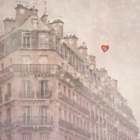 Heart Paris Fine Art Print