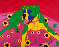 Courageous Clown Fine Art Print