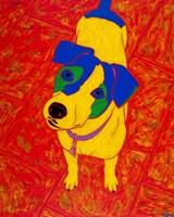 Feisty Jack Russell Fine Art Print