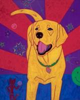Yellow Happiness Fine Art Print