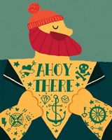 Ahoy There Fine Art Print