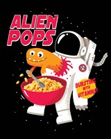 Alien Pops Fine Art Print