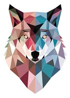 Geo Wolf Fine Art Print