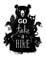 Go Take a Hike Fine Art Print