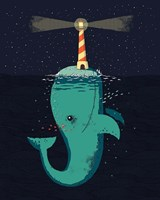 King of The Narwhals Fine Art Print
