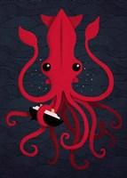 Kraken Attaken Fine Art Print