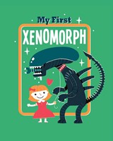 My First Xenomorph Fine Art Print