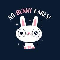 No Bunny Cares Fine Art Print