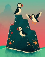 Puffin Rock Fine Art Print