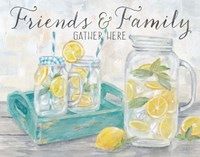 Friends and Family Country Lemons Landscape Fine Art Print