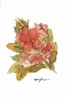 Coral Floral Fine Art Print