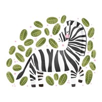 Safari Cuties Zebra Fine Art Print